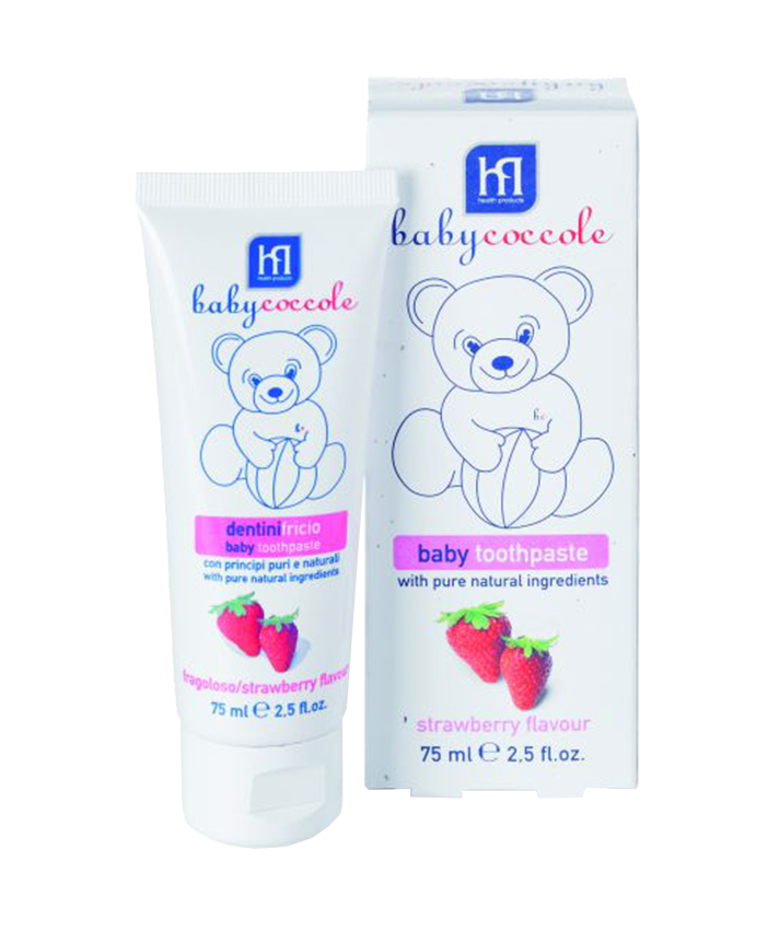BABY TOOTHPASTE STRAWBERRY FLAVOUR