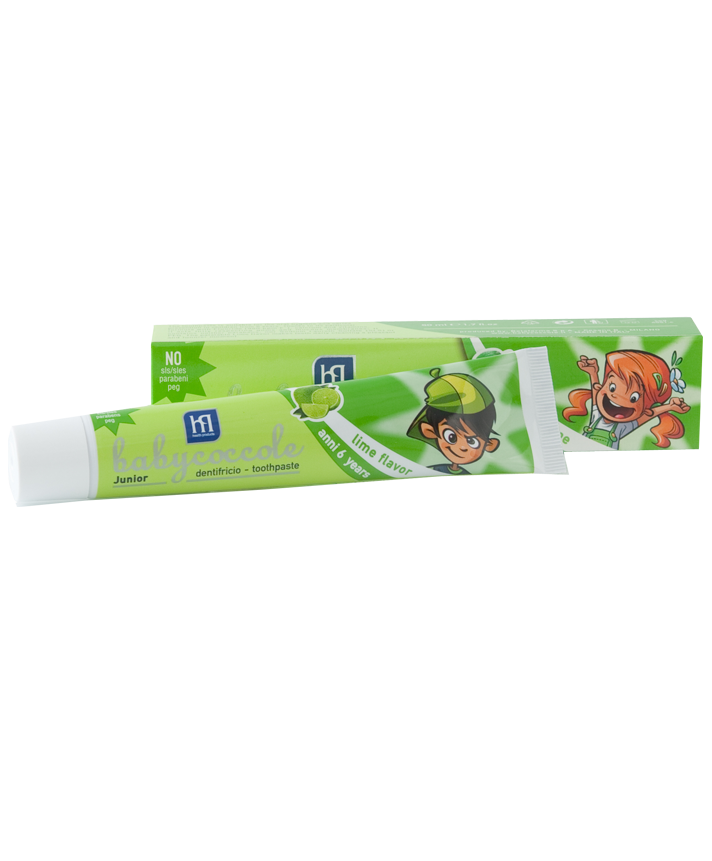 6 YEARS TOOTHPASTE LIME FLAVOUR