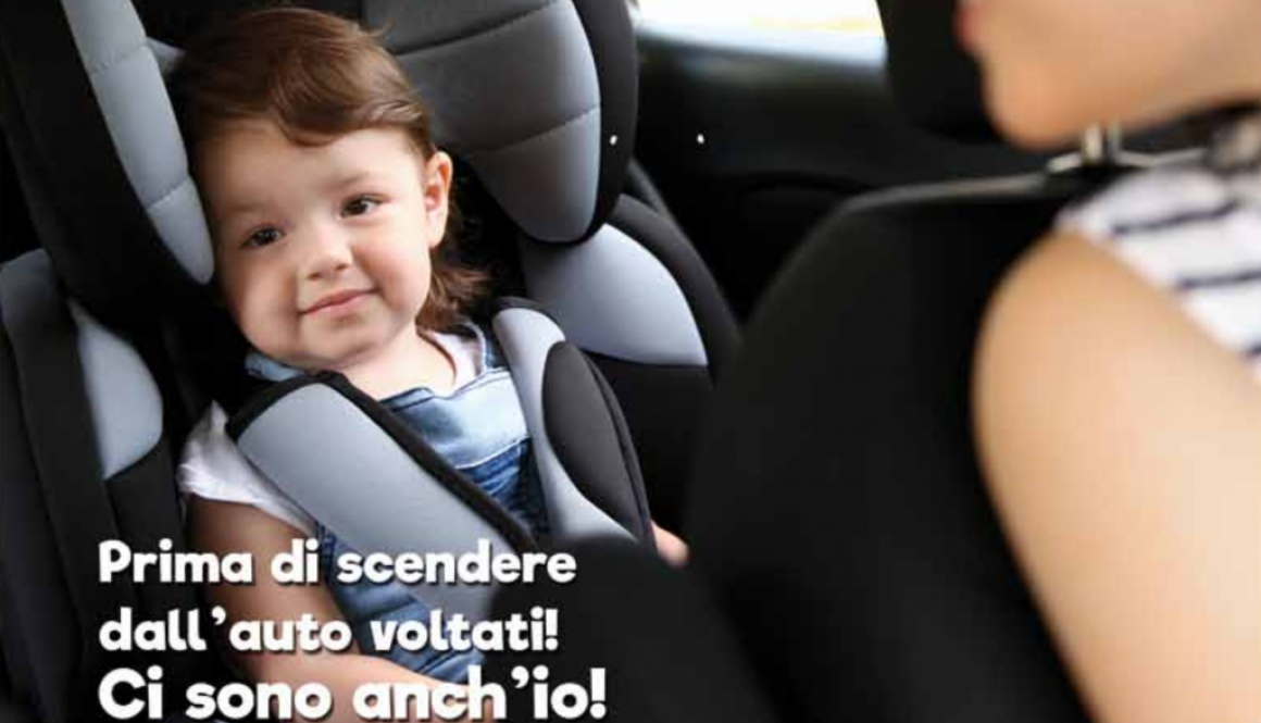 Bambini in automobile, la campagna ASAPS per l'estate 2018